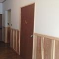 【宗像市 K様邸】築43年の家の玄関と廊下とキッチンの天井と壁のリフォーム工事!(白木建設)